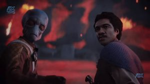 Shriv and Lando, the Felix and Oscar of the Star Wars universe.