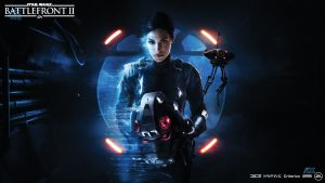 Iden Versio's nobody's fool. She's Star Wars' best written female since Leia, and character to wear black since Vader.